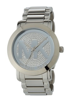 MICHAEL Michael Kors 45mm Pave Steel Bracelet Watch