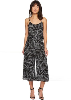 Abstract Palm Jumpsuit