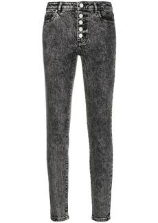 MICHAEL Michael Kors acid wash skinny jeans