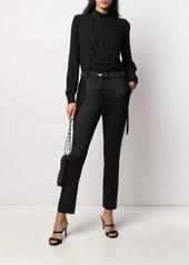 MICHAEL Michael Kors asymmetric draped blouse