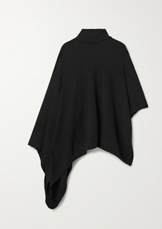 MICHAEL Michael Kors Asymmetric Knitted Turtleneck Poncho