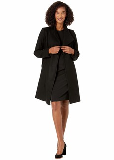 MICHAEL Michael Kors Asymmetric Wool Coat with Belt Coat M123890TZ
