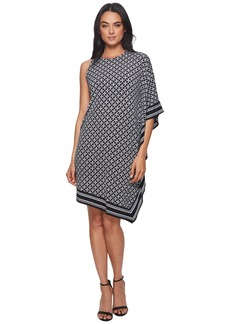 MICHAEL Michael Kors Asymmetrical  Rope Border Dress