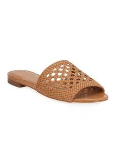 MICHAEL Michael Kors Augustine Flat Woven Slide Sandals