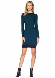 MICHAEL Michael Kors Bandana Print Sweater Dress