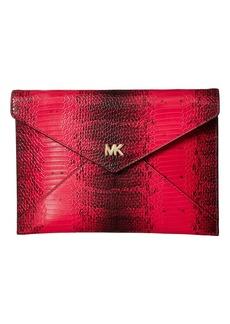 MICHAEL Michael Kors Barbara Medium Soft Envelope Clutch