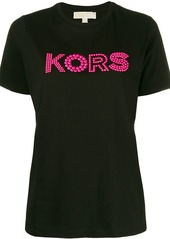 MICHAEL Michael Kors beaded detail T-shirt