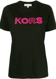 MICHAEL Michael Kors beaded detail T-shirt