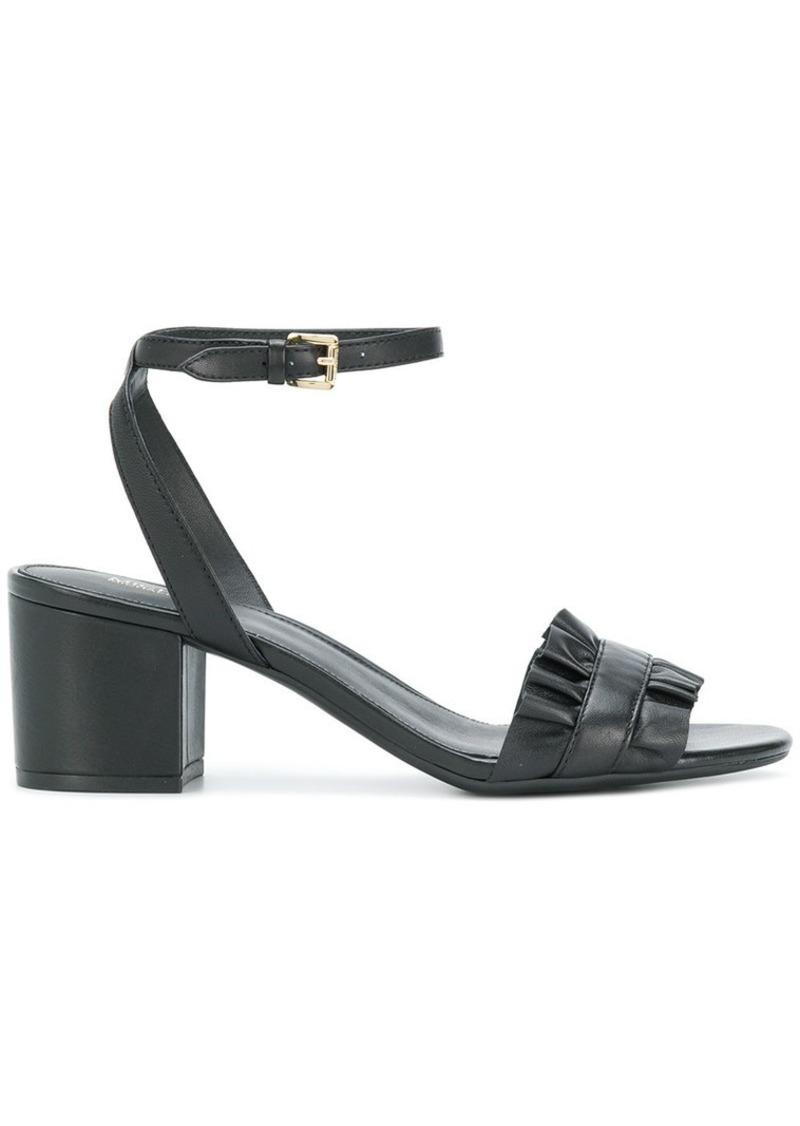 554f57a0271 Bella ruffled mid-heel sandals