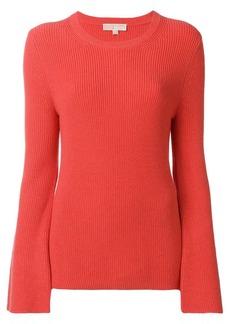 MICHAEL Michael Kors belle-sleeve ribbed sweater