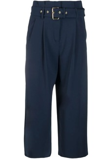 MICHAEL Michael Kors belted cropped trousers