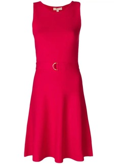 MICHAEL Michael Kors belted fit-and-flare mini dress