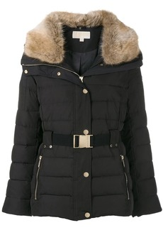MICHAEL Michael Kors belted padded jacket