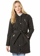 MICHAEL Michael Kors Belted Snap Front Quilt M422914TZ