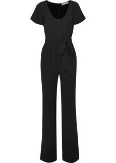 MICHAEL Michael Kors Belted Stretch-crepe Jumpsuit