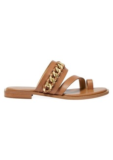 MICHAEL Michael Kors Bergen Leather Flat Sandals