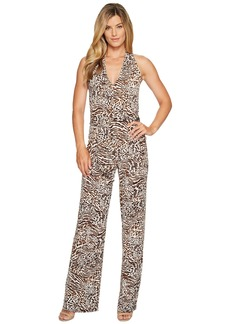 MICHAEL Michael Kors Big Cat Halter Jumpsuit