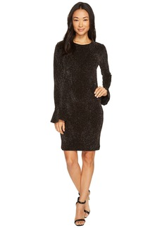 MICHAEL Michael Kors Bodycon Flounce Sleeve Dress