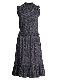 MICHAEL Michael Kors Boutique Blooms Smocked Dress