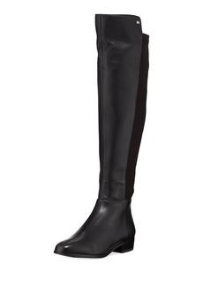 MICHAEL Michael Kors Bromley Sensitive Stretch Napa Flat Riding Boots