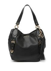 MICHAEL Michael Kors Brooke Large Leather Shoulder Bag