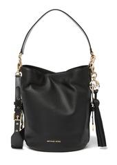 MICHAEL Michael Kors Brooke Mid Leather Bucket Bag