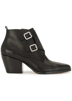 MICHAEL Michael Kors buckle point-toe boots