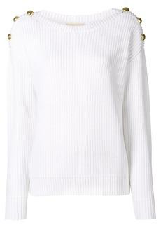 MICHAEL Michael Kors button detail sweater