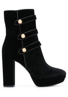 MICHAEL Michael Kors button embellished boots