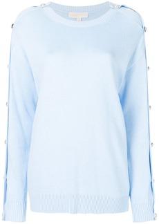 MICHAEL Michael Kors button-embellished jumper