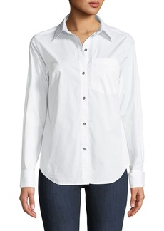 MICHAEL Michael Kors Button-Front Blouse