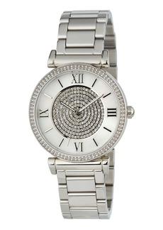 MICHAEL Michael Kors Caitlin Rhinestone Stainless Steel Watch