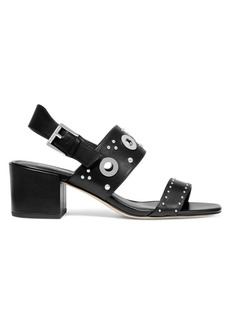 MICHAEL Michael Kors Caldwell Gryle Leather Heeled Sandals