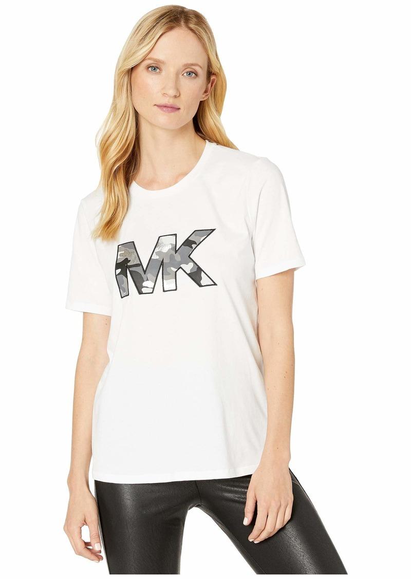 MICHAEL Michael Kors Camo MK Logo T-Shirt