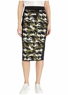 MICHAEL Michael Kors Camo Tie Waist Skirt
