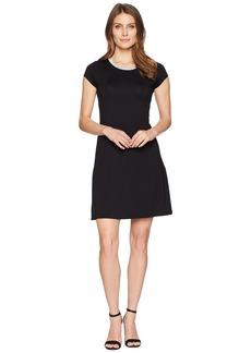 MICHAEL Michael Kors Cap Sleeve Seam Mini Dress