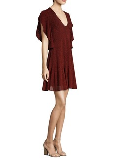 MICHAEL Michael Kors Cascade Sleeve Dress