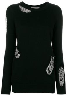 MICHAEL Michael Kors chain-embellished sweater