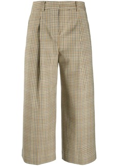 MICHAEL Michael Kors checked cropped trousers