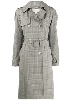 MICHAEL Michael Kors checked trench coat