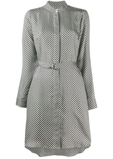 MICHAEL Michael Kors checkered pattern dress