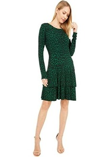 MICHAEL Michael Kors Cheetah MJ Flounce Dress