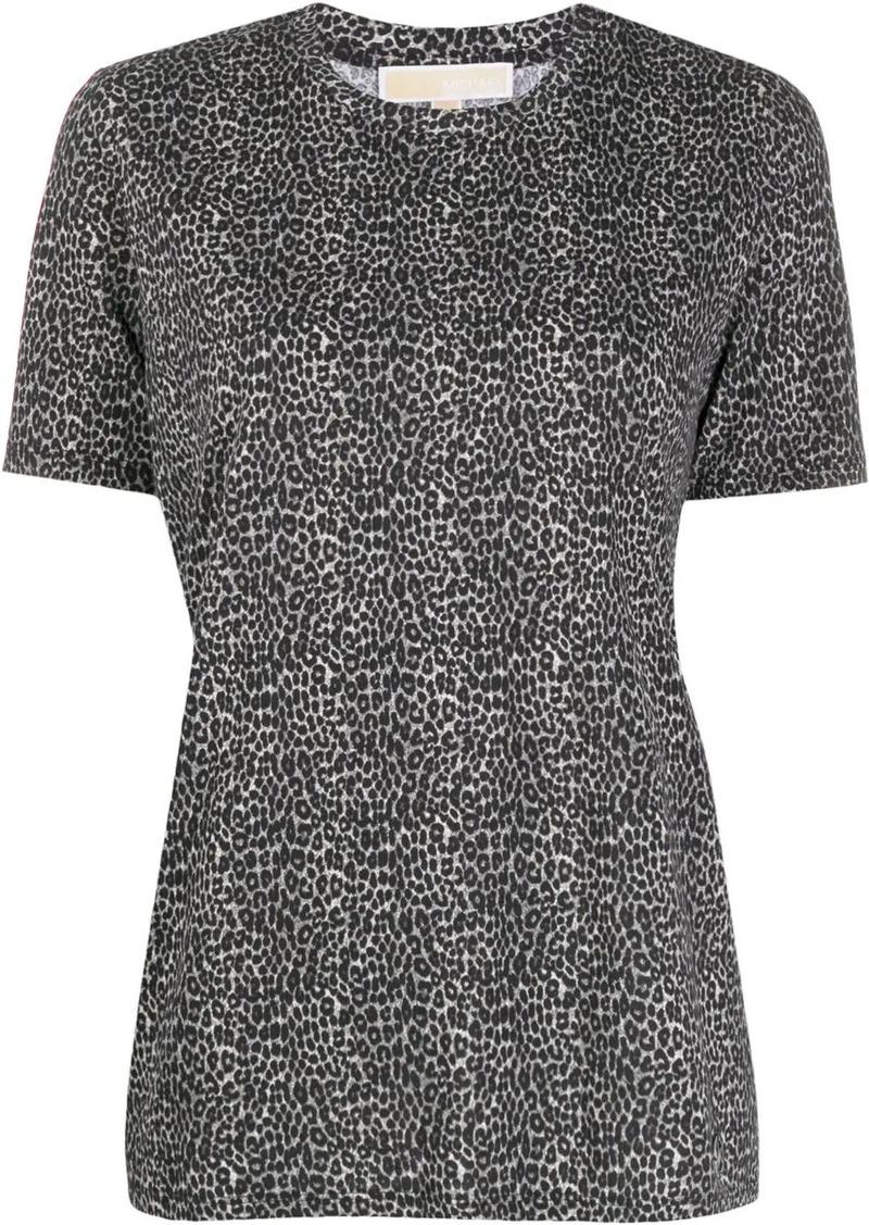MICHAEL Michael Kors cheetah print T-shirt