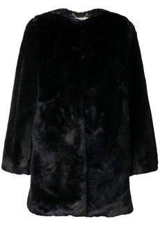 MICHAEL Michael Kors collarless coat
