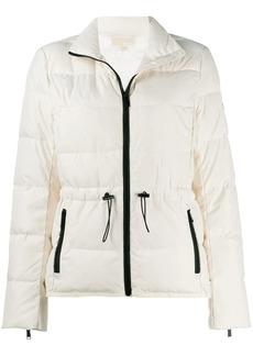 MICHAEL Michael Kors contrast trim puffer jacket
