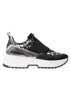 MICHAEL Michael Kors Cosmo Logo-Print Sneakers