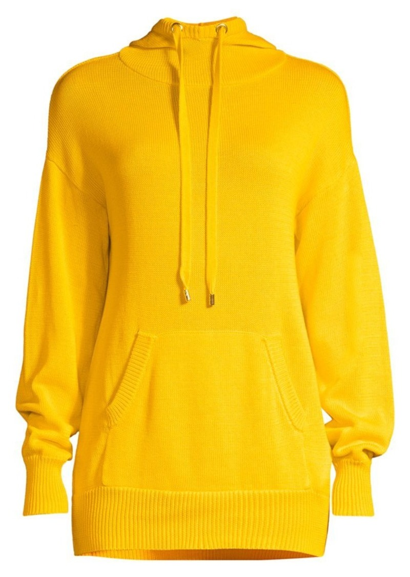 MICHAEL Michael Kors Cotton Pocket Drawstring Hoodie
