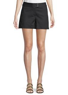 MICHAEL Michael Kors Cotton Snap-Waist Sailor Shorts