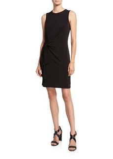 MICHAEL Michael Kors Crewneck Sleeveless Tie-Waist Jersey Dress