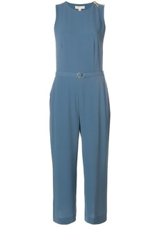 MICHAEL Michael Kors cropped belted jumpsuit
